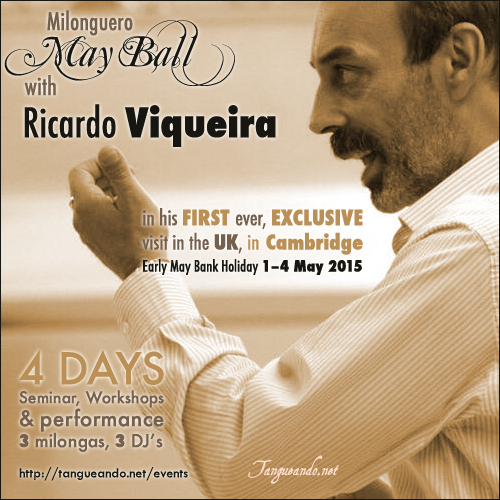 Cambridge Tango - Ricardo Viqueira in Cambridge by Tanguando.net
