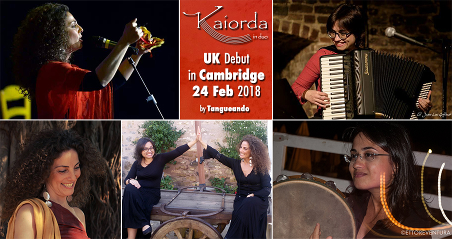 Kaiorda in duo in Cambridge February 2018 by Tangueando - Live Concert