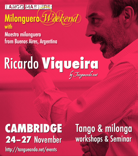 Ricardo Viqueira in Cambridge - Tango by Tangueando.net