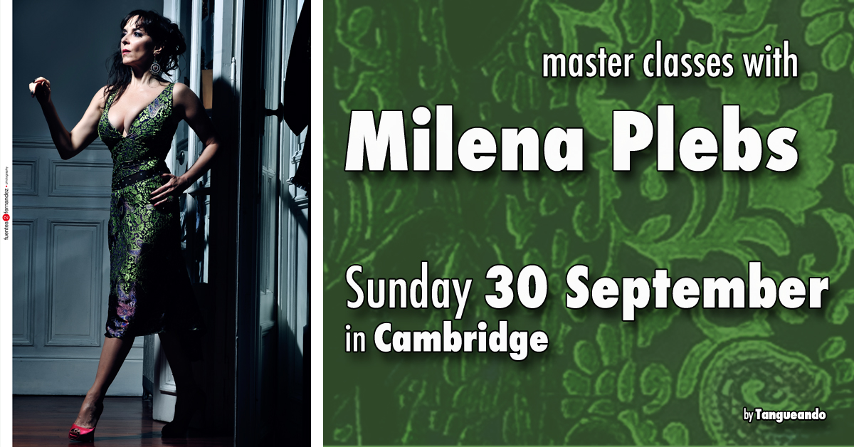Milena Plebs - Argentine Tango in Cambridge by Tangueando.net