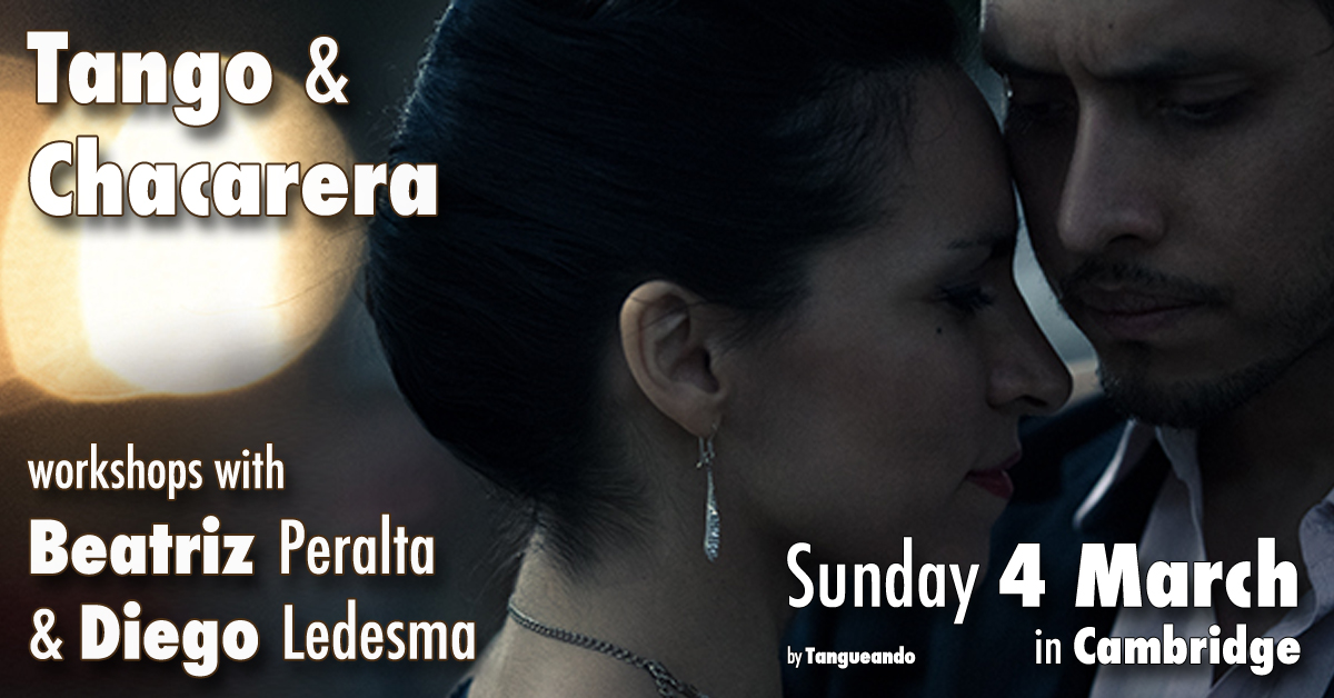 Tango and Chacarera workshops with Beatríz Peralta and Diego Ledesma