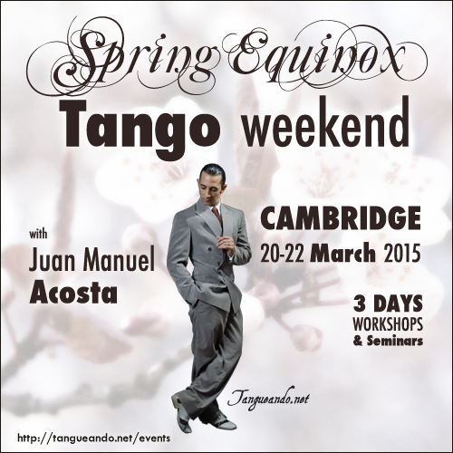 Juan Manuel Acosta in Cambridge Tango by Tangueando.net