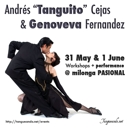 Cambridge Tango - Tanguito Cejas and Genoveva Fernandez in Cambridge by Tanguando.net