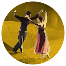 Chacarera & elements of Argentine Folklore (Diego Javier Ledesma & Beatríz Peralta dancing chacarera)