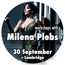 Milena Plebs - Argentine Tango masterclasses in Cambridge
