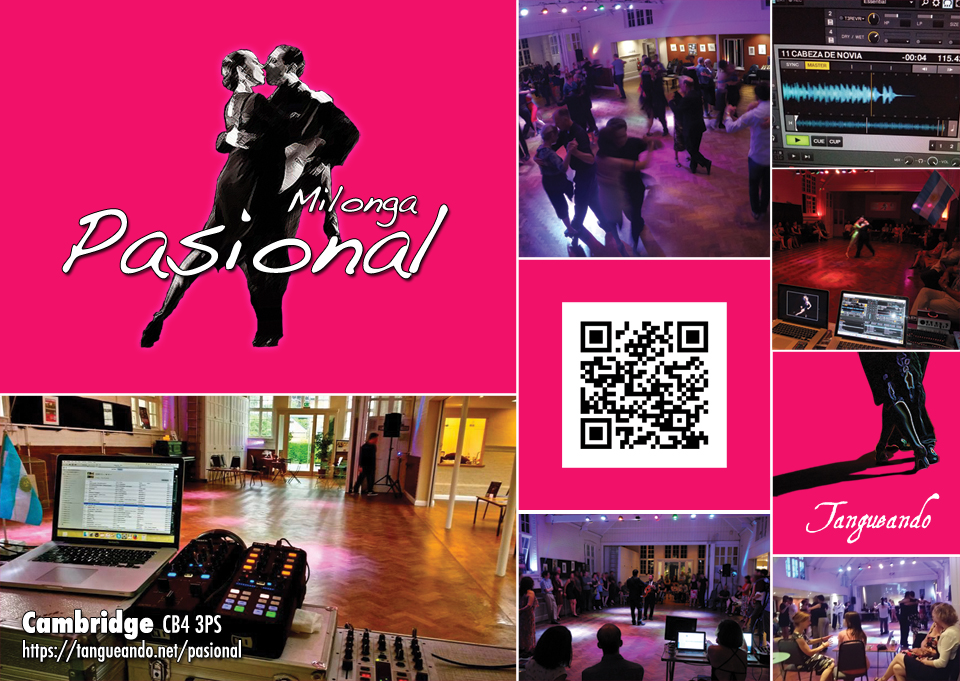 Milonga Pasional in Cambridge by Tangueando
