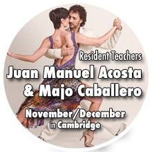 Juan Manuel Acosta & Majo Cabajjero in Cambridge and Bishop's Stortford - November/December 2018