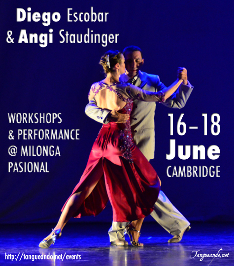 Diego Escobar & Angi Staudinger in Cambridge - Tango by Tangueando.net