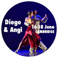 Diego Escobar & Angi Staudinger in Cambridge Tango by Tangueando - 16–18 June 2017