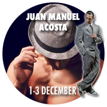 Workshops with Juan Manuel Acosta in Cambridge - December 2017