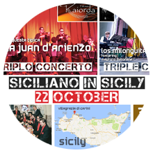 Siciliano in Sicily - Tango & Folk Music Festival - 22 October 2017