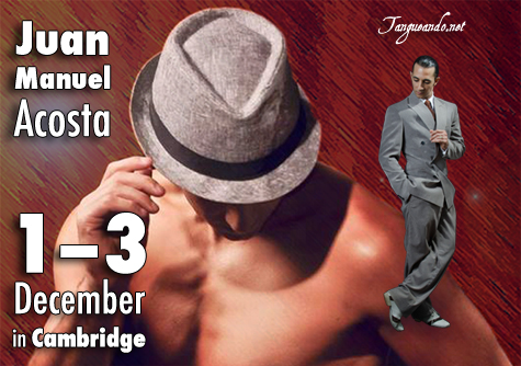Juan Manuel Acosta - Argentine Tango in Cambridge by Tangueando.net