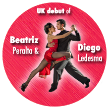 Beatríz Peralta & Diego Ledesma - UK debut in Cambridge - February 2018